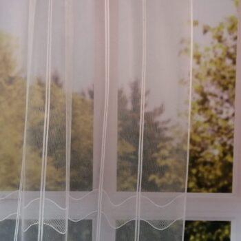 Hullám mintás vitrage függöny