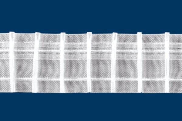 Függöny behúzószalag 1:2 50mm